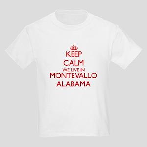 Keep calm we live in Montevallo Alabama T-Shirt