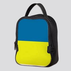 Ukraine flag Neoprene Lunch Bag