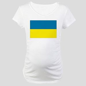 Ukraine flag Maternity T-Shirt