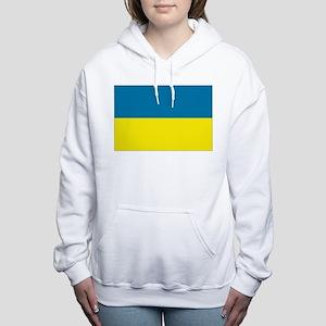 Ukraine flag Women's Hooded Sweatshirt