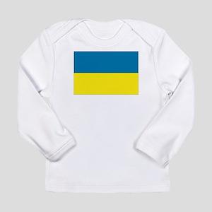 Ukraine flag Long Sleeve Infant T-Shirt