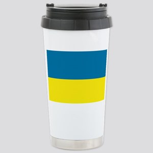 Ukraine flag Stainless Steel Travel Mug