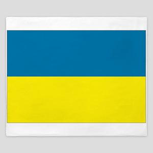 Ukraine flag King Duvet