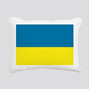 Ukraine flag Rectangular Canvas Pillow