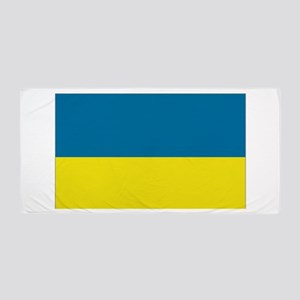Ukraine flag Beach Towel