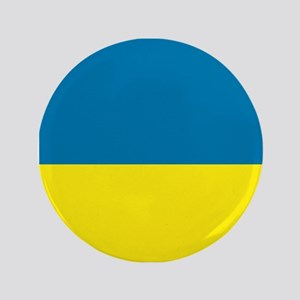 "Ukraine flag 3.5"" Button"