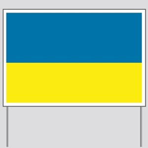 Ukraine flag Yard Sign