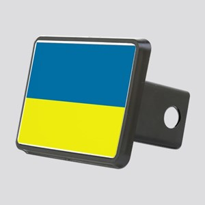 Ukraine flag Rectangular Hitch Cover