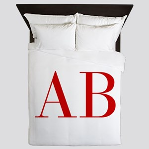 AB-bod red2 Queen Duvet