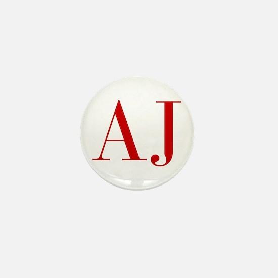 AJ-bod red2 Mini Button