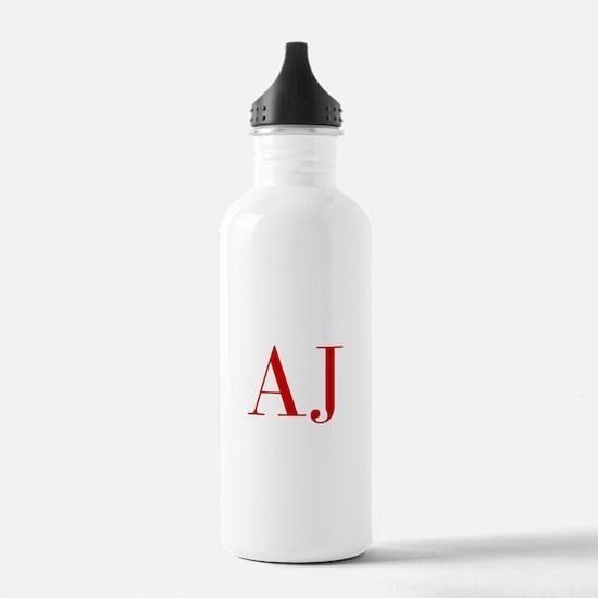 AJ-bod red2 Water Bottle