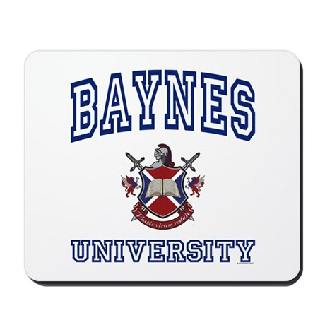 BAYNES University Mousepad