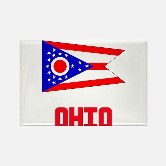 Ohio Flag Design Magnets