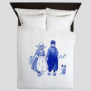 Dutch Kids Queen Duvet