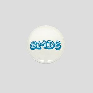 Graffiti Bride Mini Button