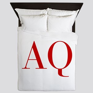 AQ-bod red2 Queen Duvet