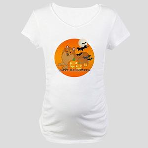 Pomeranian Maternity T-Shirt