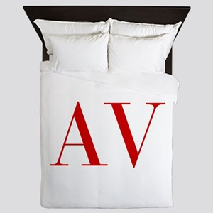 AV-bod red2 Queen Duvet