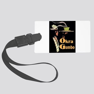 Okra Gumbo Luggage Tag