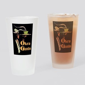 Okra Gumbo Drinking Glass