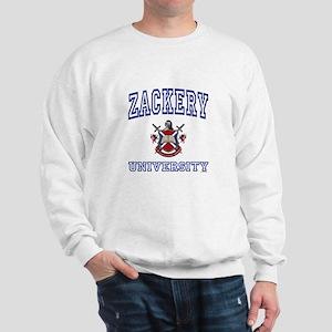 ZACKERY University Sweatshirt