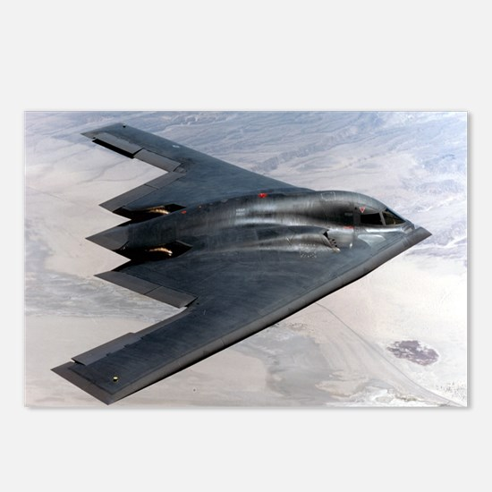 B2 Stealth Bomber In Flight Postcards (Package of