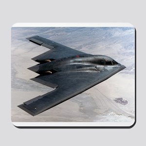 B2 Stealth Bomber In Flight Mousepad