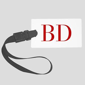 BD-bod red2 Luggage Tag
