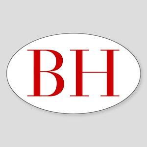 BH-bod red2 Sticker