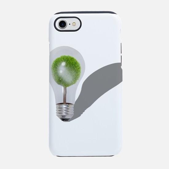 TreeLightbulb062210shadows.png iPhone 7 Tough Case