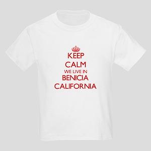 Keep calm we live in Benicia California T-Shirt