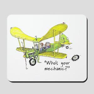 Who's Your Mechanic? Mousepad