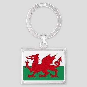 Wales flag decorative Landscape Keychain