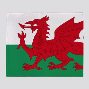 Wales flag decorative Throw Blanket
