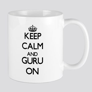 Keep Calm and Guru ON Mugs