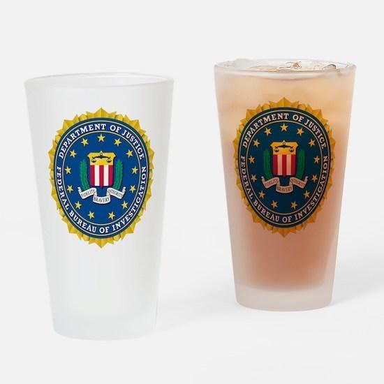 DoJ FBI Drinking Glass