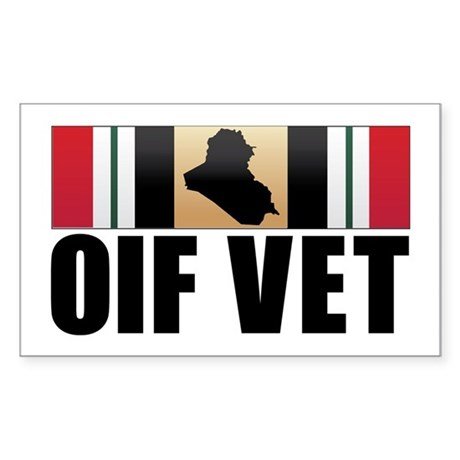Operation Iraqi Freedom Veteran Sticker