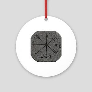 viking compass Ornament (Round)