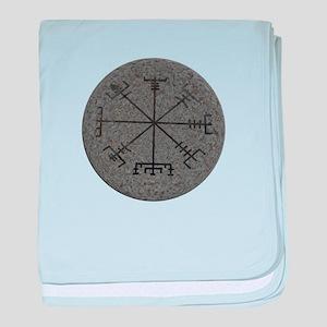 viking compass baby blanket