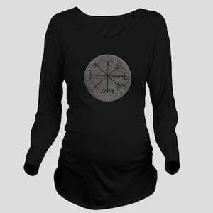 viking compass Long Sleeve Maternity T-Shirt