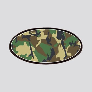 Woodland Camouflage Patches