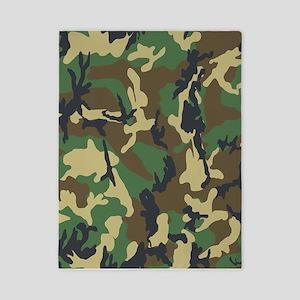 Woodland Camouflage Twin Duvet