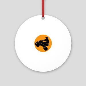 ATV RIDER Ornament (Round)