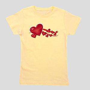 hearts Girl's Tee