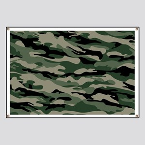 Army Camouflage Banner