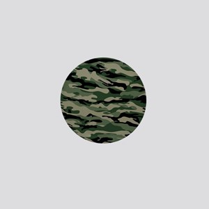 Army Camouflage Mini Button