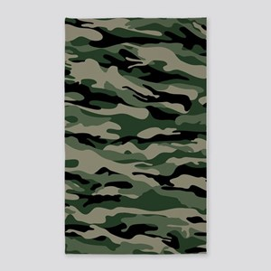 Army Camouflage Area Rug