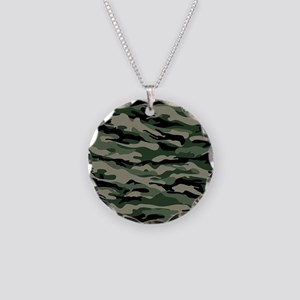 Army Camouflage Necklace