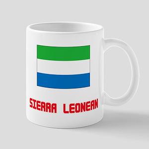 Sierra Leonean Flag Design Mugs