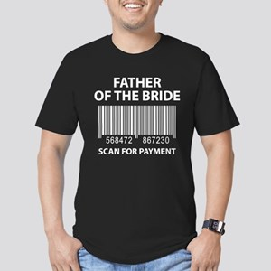 Father Of The Bride Men's Fitted T-Shirt (dark)